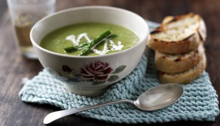Asparagus soup