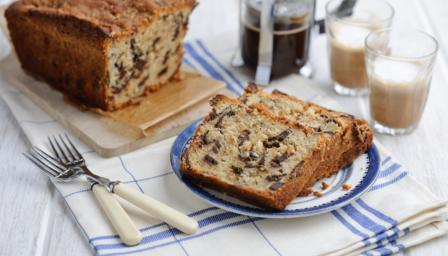 Black banana cake