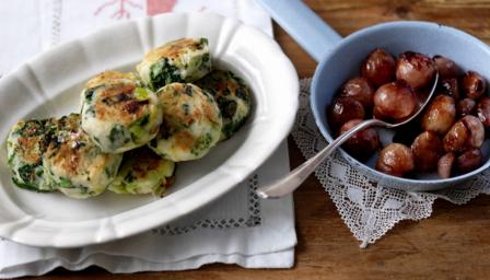 Bubble and squeak and candied