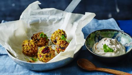 Bulgur wheat balls