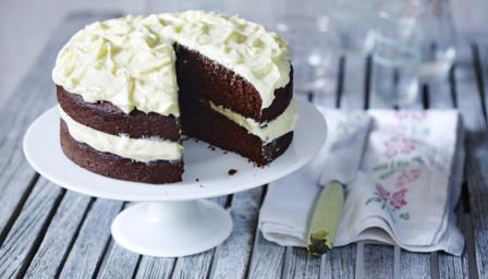 bbc food recipes celebration chocolate cake on birthday cake sponge recipe mary berry