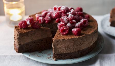 Bbc Food Recipes Celebration Chocolate Mousse Cake