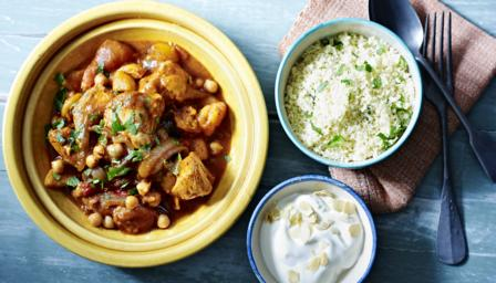 ... chickpea and chicken and chickpea tagine moroccan chicken tagine with