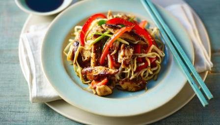 Chicken chow mein recipe bbc food forumfinder Image collections