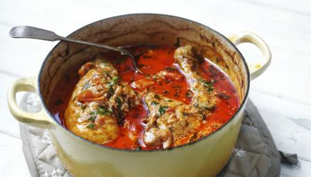 Chicken paprika