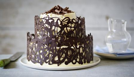 Two Tier Chocolate Cake Recipe Uk
