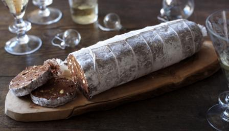 Chocolate salame