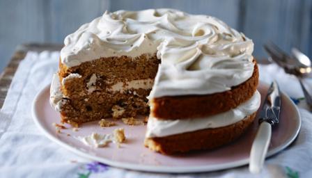 Bbc Food Recipes Coffee And Walnut Cake