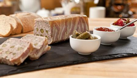 Coarse country terrine