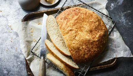 Crackle top bread