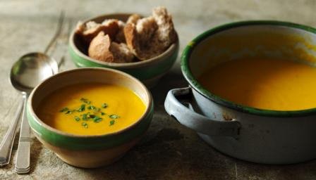BBC Food - Recipes - Curried carrot soup