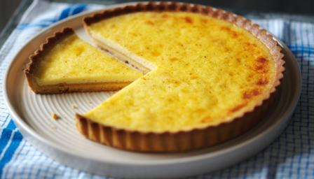Custard tart