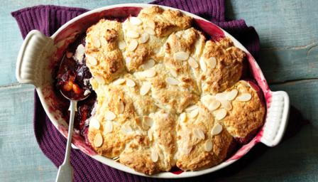 Damson cobbler