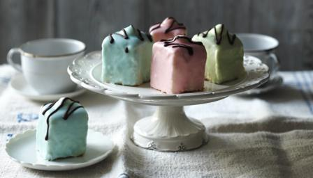 Mary Berry's fondant fancies