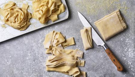 Homemade pasta recipe for pasta maker