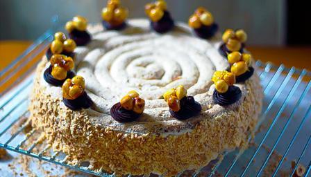 Bbc Food Recipes Hazelnut Dacquoise