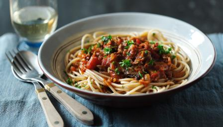 Big Fat Bolognese Sauce With Fresh Pasta Recipes — Dishmaps