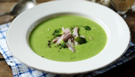 How to make pea and ham soup