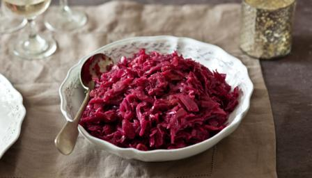 Make-ahead red cabbage