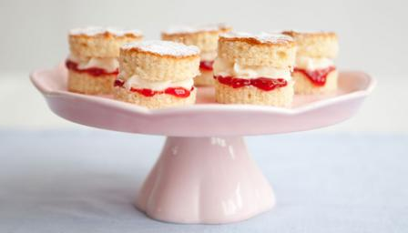 Mini Victoria sandwiches