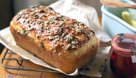 Multi-seeded wheat-free bread