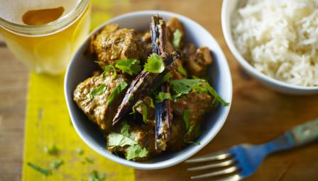 ... takeaway with Anjum Anand's recipe for the ultimate lamb rogan josh