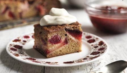 Plum pudding cake