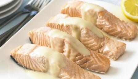 """Poached salmon with lemon sauce"" to Favourites Add ""Poached salmon ..."