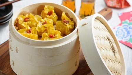 Pork and prawn dumplings