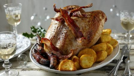 Roast turkey crown