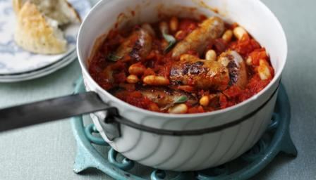 Sausage Casserole - ideal with Les Chailles