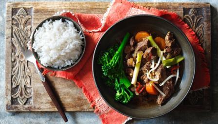 Slow cooker beef hotpot