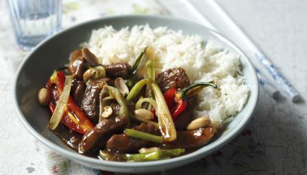 Stir-fried chilli pork