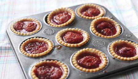 Bbc Food Recipes Strawberry Jam Tarts