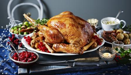 Bbc food recipes the perfect christmas turkey for The perfect kitchen menu