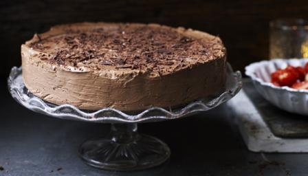 Velvet chocolate torte