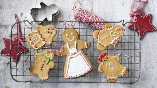BBC Food - Recipes - Christmas gingerbread men