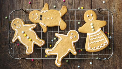 BBC Food - Recipes - Gingerbread men