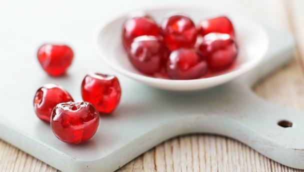 Glacé cherries