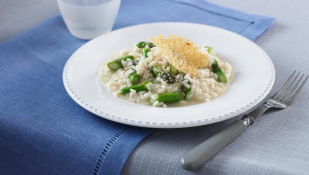 Asparagus risotto
