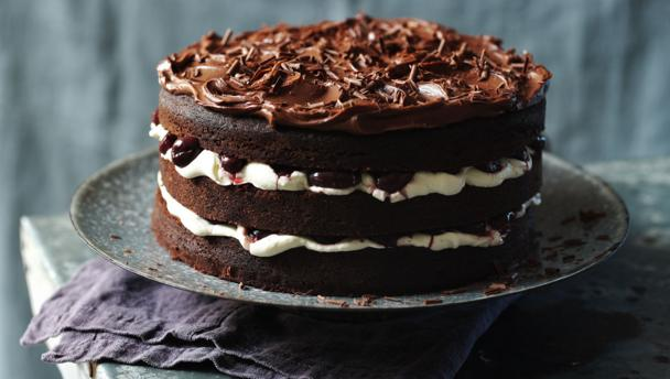 Bbc Food Black Forest G 226 Teau Recipes
