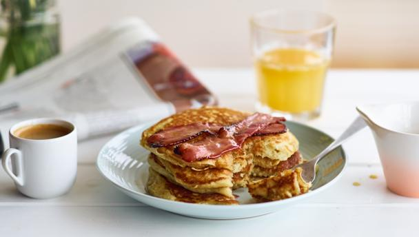 how to make buttermilk pancakes with self rising flour