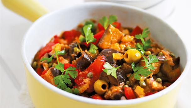 BBC Food - Recipes - Caponata ratatouille