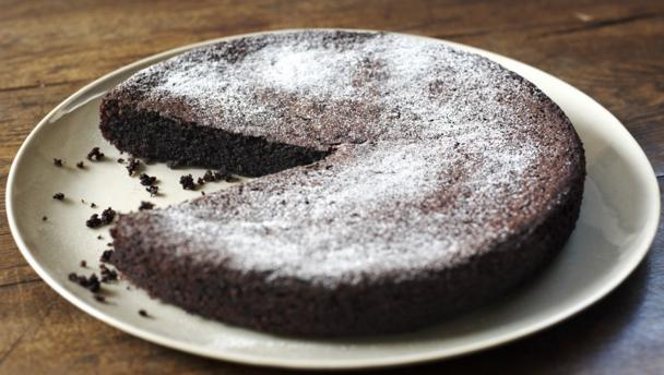 BBC Food - Recipes - Chocolate olive oil cake
