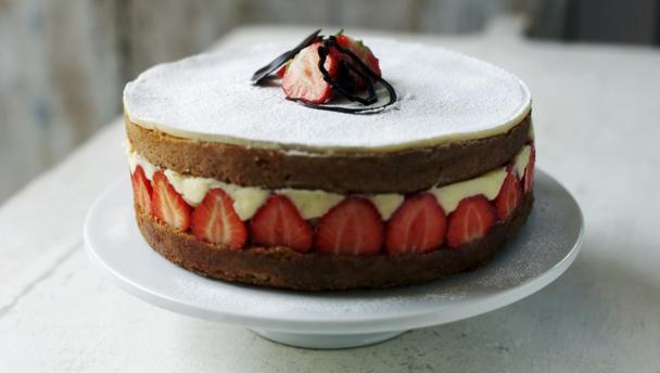 Genoise Sponge Cake Recipe Uk