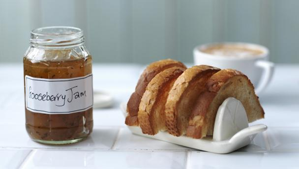 BBC Food - Recipes - Gooseberry jam