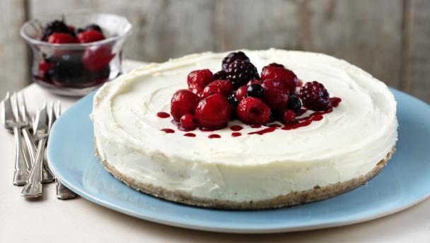 Apple Cake Recipe Uk Bbc: Lemon Cheesecake