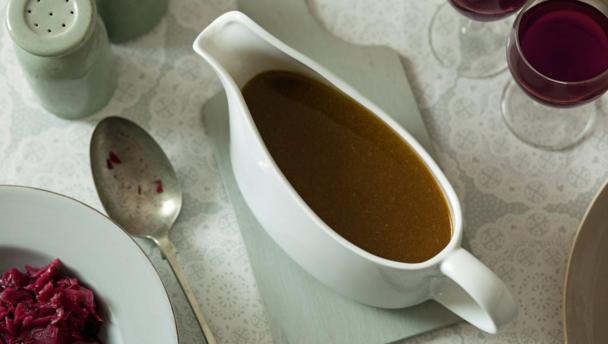 Make-ahead Christmas gravy