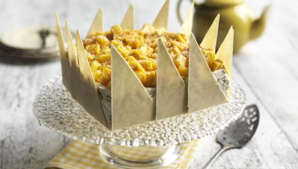 White Chocolate Cake Recipes Uk: Mango And White Chocolate Cake With