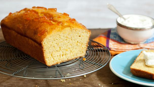 Low Fat Yogurt Cake Recipes: Marmalade Yoghurt Cake